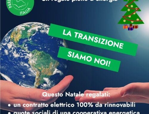 """E' iniziata la campagna informativa """"Passare all'energia verde"""""""