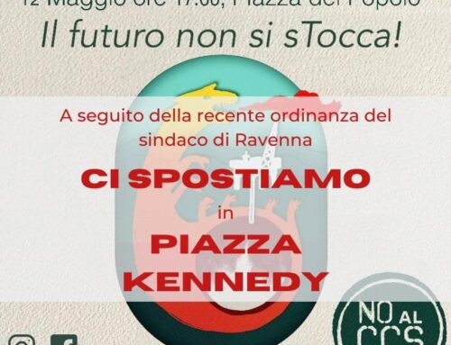 Manifestazione contro il CCS a Ravenna