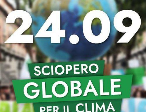 24 settembre: Sciopero per il Clima